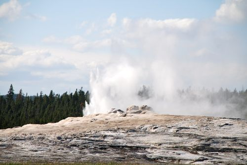 Preliminary throat-clearing Old Faithful