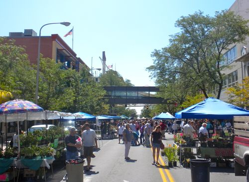 Farmer's Market on Broadway