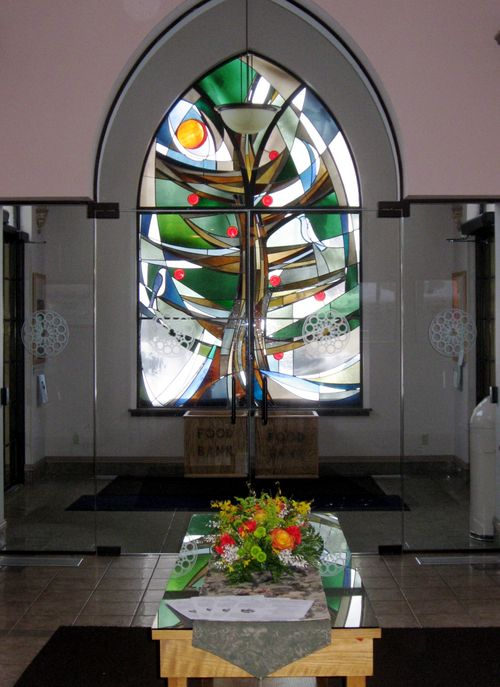 Stained Glass Window Narthex