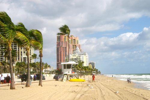 Beach at Ft Lauderdale